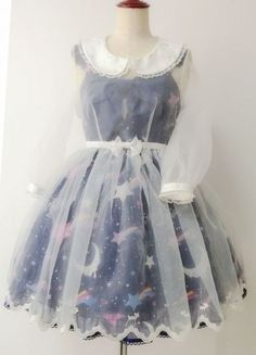 Love this little over dress!