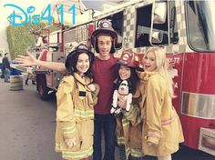 """""""I Didn't Do It"""" Cast Happy About A Fire Truck That Sells Pizza December 17, 2013"""