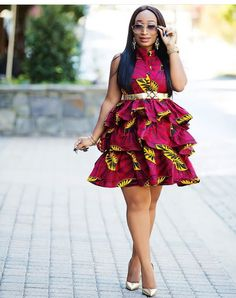Ankara Short Gown Styles Beautiful African Dress To Try Out Hello beautiful ladies, Today we a African Fashion Ankara, African Inspired Fashion, Latest African Fashion Dresses, African Dresses For Women, African Print Dresses, African Print Fashion, African Attire, African Wear, Fashion Prints