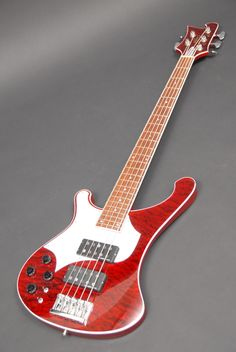 Rick-style HH Custom 5 string bass by Combat Guitars