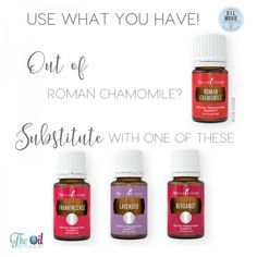Out of stock or running out is not a problem, try using what you have! There are so many wonderful oils and blends, there is always an alternative.