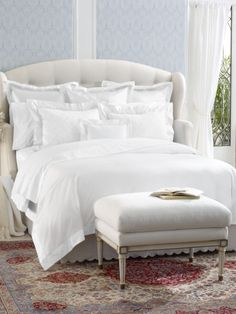 Ashmont White Cuff Collection - Ralph Lauren Home Bedding Collections - RalphLauren.com
