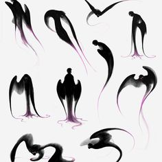 63 Ideas dark anime art demons deviantart for 2019 Fantasy Kunst, Dark Fantasy Art, Fantasy Creatures, Mythical Creatures, Animal Drawings, Art Drawings, Art Du Croquis, Wie Zeichnet Man Manga, Poses References