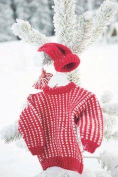 Mari & Lars, genser, tights og luer Winter Holidays, My Design, Winter Hats, Tights, Crochet Hats, Children, Mini, Inspiration, Barn