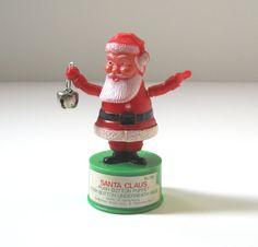Vintage Santa Claus Push Puppet Kohner Bros by TheVintageResource, $14.00