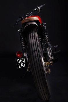 Sexta Insana: CG 125 brat by Low Budget Customs | Garagem Cafe Racer