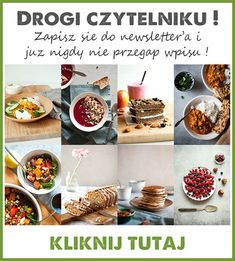 nocna owsianka z mlekiem kokosowym, malinami i żurawiną - zielony środek Cereal, Cooking, Breakfast, Desserts, Recipes, Lunch, Food, Diet, Recipies