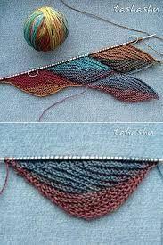 swing knitting uzor - Buscar con Google
