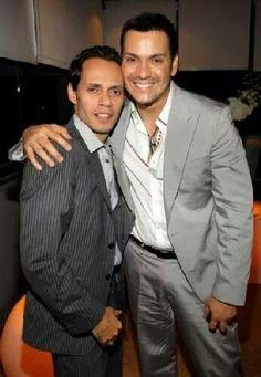 Marc Anthony and Victor Manuel....Salseros con clase. Orgullo de nuestra Isla ♥