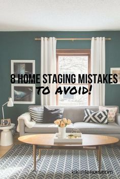 Take a look at these 8 home staging mistakes home owners make before putting their homes on the market - Home decor ideas, home decor trends, home decor, home staging, home style, home styling inspiration