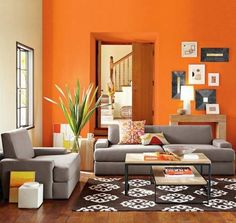burnt orange kitchen ideas | burnt orange wall color photo gallery