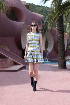 Christian Dior Resort 2016 Fashion Show - Greta Varlese