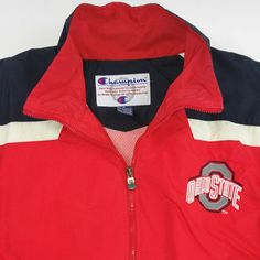 How can you not appreciate a retro Ohio State Champion Track Jacket? Swing by our Etsy shop at www.JustOneVintage.com and pick it up. Instagram @justonevintage