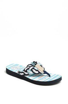 Cape Cod Shoe Supply Co. 'Mainsail' Flip Flop   Nordstrom -- the perfect beach sandal.