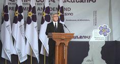 La política de Armenia busca crear mecanismos eficaces para prevenir nuevos crímenes contra la humanidad, declaró el presidente armenio, Serzh Sargsián.