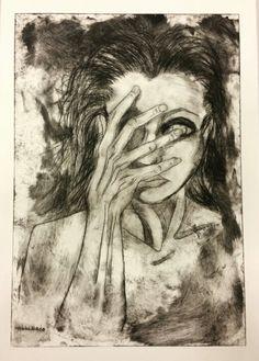Drypoint artwork second print