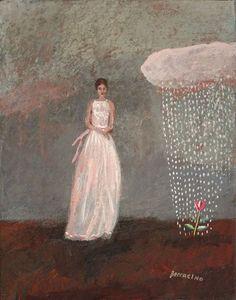 Jean Boccacino | 'femme au petit nuage rose'
