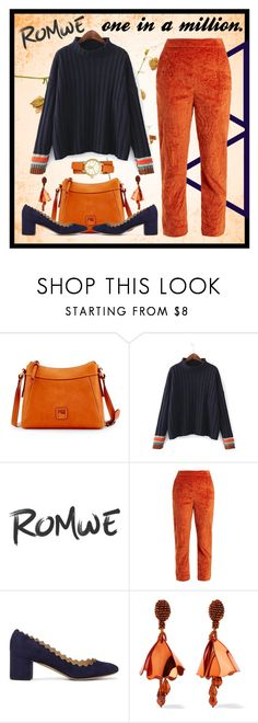 """one in a million."" by kaitwillis ❤ liked on Polyvore featuring Dooney & Bourke, Isa Arfen, Chloé, Oscar de la Renta and Tory Burch"