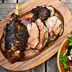 Rosemary Grilled Leg of Lamb