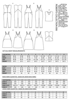 ROBERTS COLLECTION sewing/dress making patterns by MarillaWalker