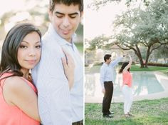 dancing, Dallas outdoor engagement by dallas wedding photographer Stephanie brazzle photography