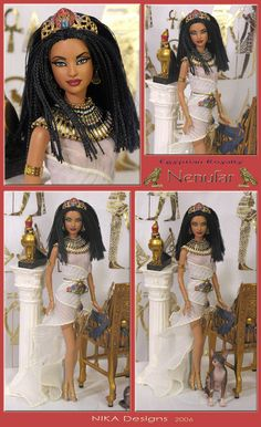 nenufar egyptian barbie repaint