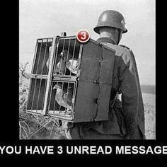 Old school communication