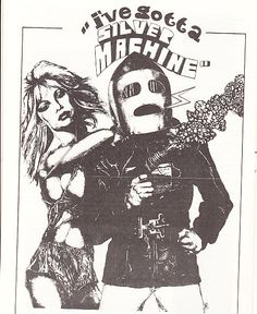 Hawkwind Posters | Silver Machine,Hawkwind fanzine poster | Flickr - Photo Sharing!