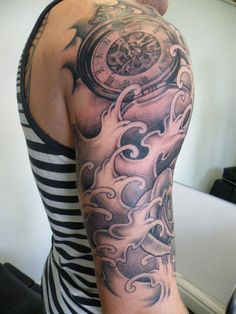 Amazing half sleeve tattoo