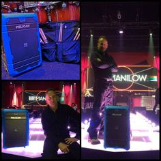 When #BarryManilow and drummer Russ McKinnon hit the road, Pelican Elite #Luggage is a must. #tourlife #music #ontheroad