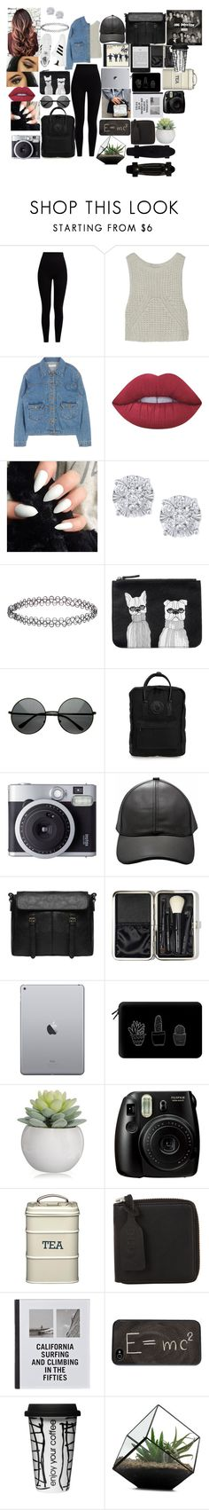 """""""Evangaline potter #10"""" by annaconley on Polyvore featuring Pepper & Mayne, Autumn Cashmere, Lime Crime, Effy Jewelry, Accessorize, adidas, Monki, Fjällräven, Fujifilm and Bobbi Brown Cosmetics"""