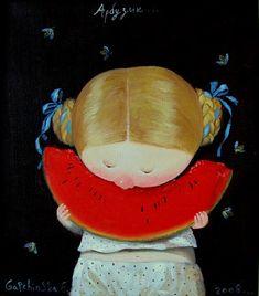 children's book illustration by Gapchinska,Ukrainian artist