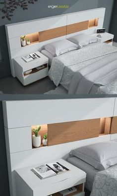 Platform Bed Ideas - Assume platform beds are just for modern-style bed rooms? Success Gallery reveals you platform beds that fit any style bed room. Bedroom Furniture Design, Modern Bedroom Design, Master Bedroom Design, Bed Furniture, Home Bedroom, Bed Headboard Design, Bedroom Decor, Furniture Outlet, Furniture Stores
