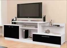 Make your television and Sound system proud of where they stay Tv Stand Furniture, Upscale Furniture, Tv Unit Furniture, Home Entertainment Furniture, Furniture Design, Lcd Wall Design, Tv Wanddekor, Modern Tv Wall Units, Rack Tv