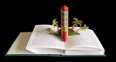 Home Dreams by Carol Barton, laser printing, acrylic, pop-ups, edition of 3
