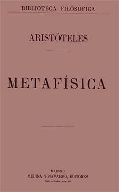 Metafísica Aristóteles