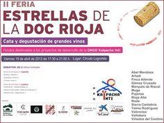 Este próximo viernes, 19 de abril se celebrará; la II Feria Estrellas de la DOCa Rioja