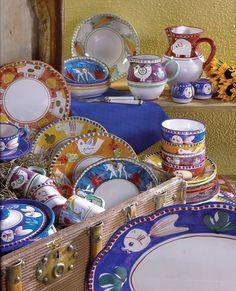 VIETRI - Campagna   #dinnerware #italy #handpainted www.theitaliandish.com
