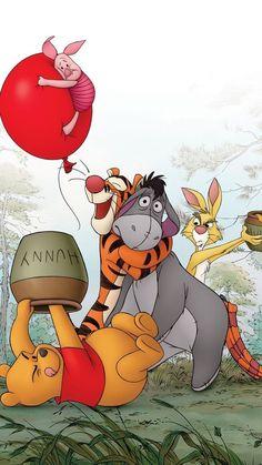 Disney Phone Wallpaper, Iphone Wallpaper, Pooh Bear, Tigger, Winnie The Pooh Background, Childhood Tv Shows, Winnie The Pooh Friends, Movie Wallpapers, Rock Crafts