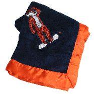 Plush Auburn Baby Blanket