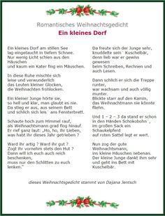 Romantisches Weihnachtsgedicht