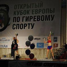 Top Russian Women in 24kg snatch.  #kettlebell #sport #fitness #kettleguard #ickbgirls #icechamber by kettleguard