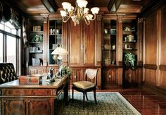 ** Handsome home office