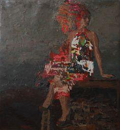 Hossam Dirar - Oil on Canvas