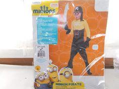 Rubies Illumination Minion Pirate Child Halloween Costume Large 12 - 14 #Rubies