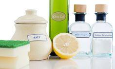Productos naturales para limpiar
