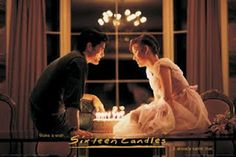 Sixteen Candles!  - love it :)  Maybe one of the most romantic movie scenes ever.