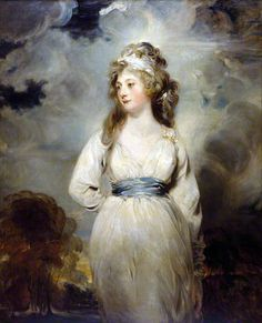 Lady Amelia Anne Hobart, Marchioness of Londonderry after Sir Thomas Lawrence, c. 1795