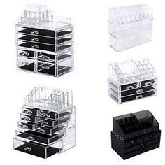 Look at this zulilyfind FourTier Drawer Makeup Organizer