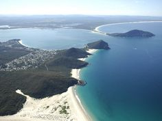 This is Port Stephens, NSW, Australia.